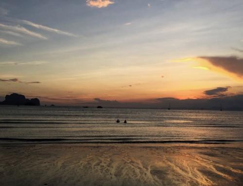 Railay Beach Sunset