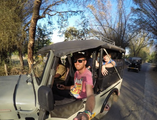 Around the World in 360° Degrees GoPro Selfie