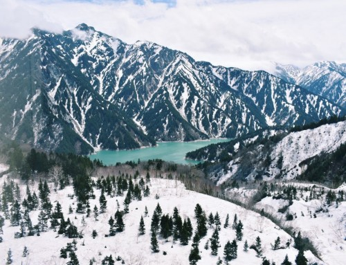 Tateyama Kurobe Alpine Route Japan